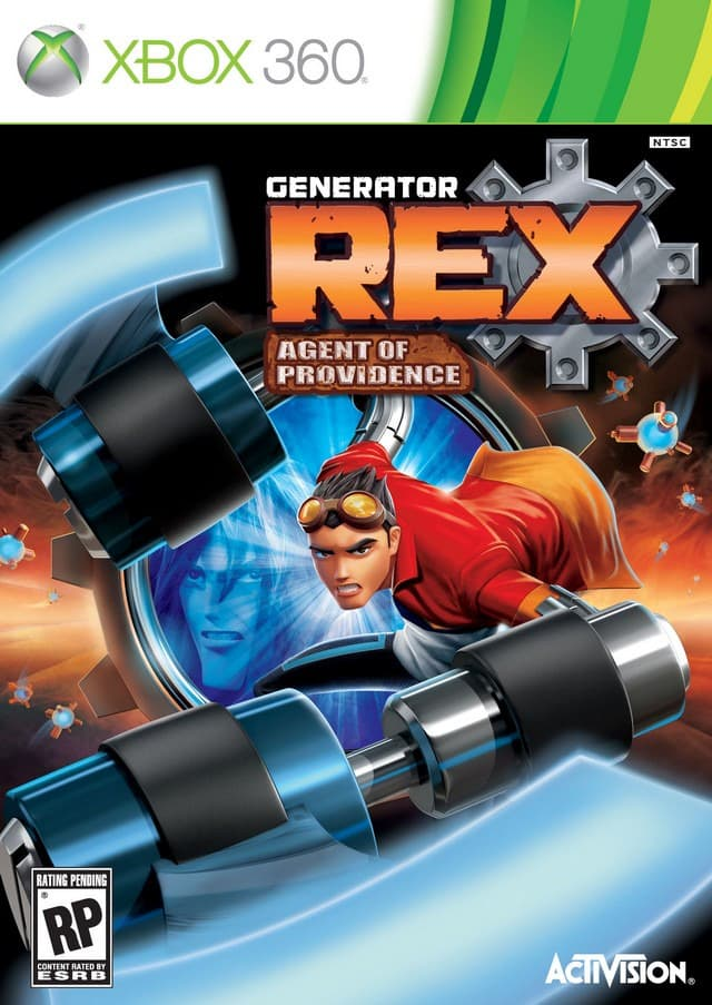 Jaquette Generator Rex : Agent of Providence