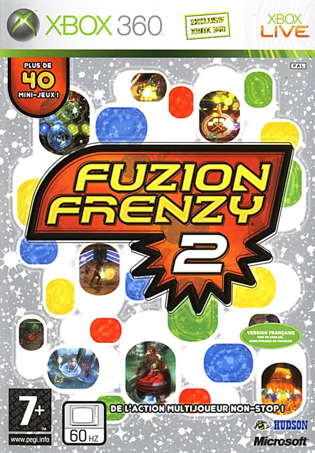 Jaquette Fuzion Frenzy 2