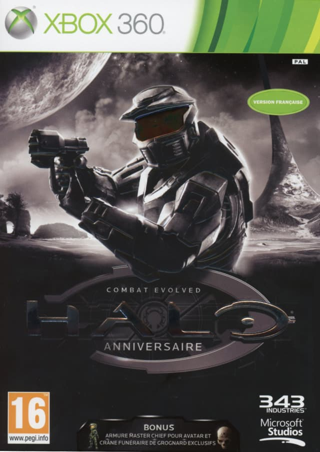 Jaquette Halo Combat Evolved Anniversaire