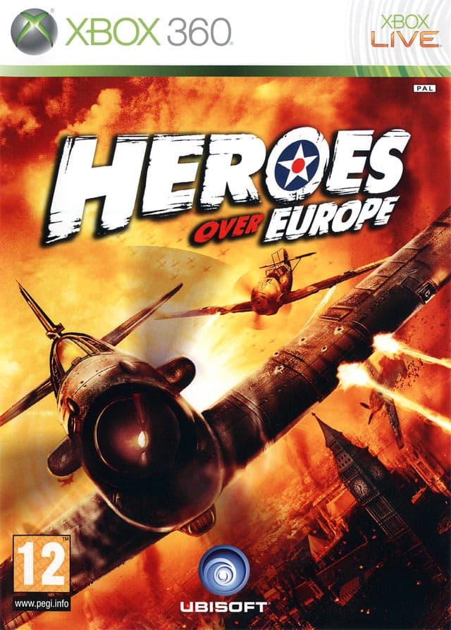 Jaquette Heroes over Europe