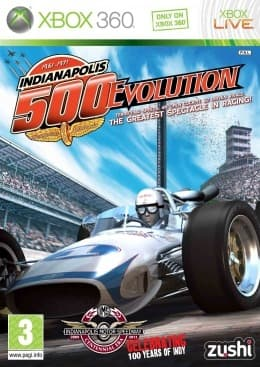 Jaquette Indianapolis 500 Evolution