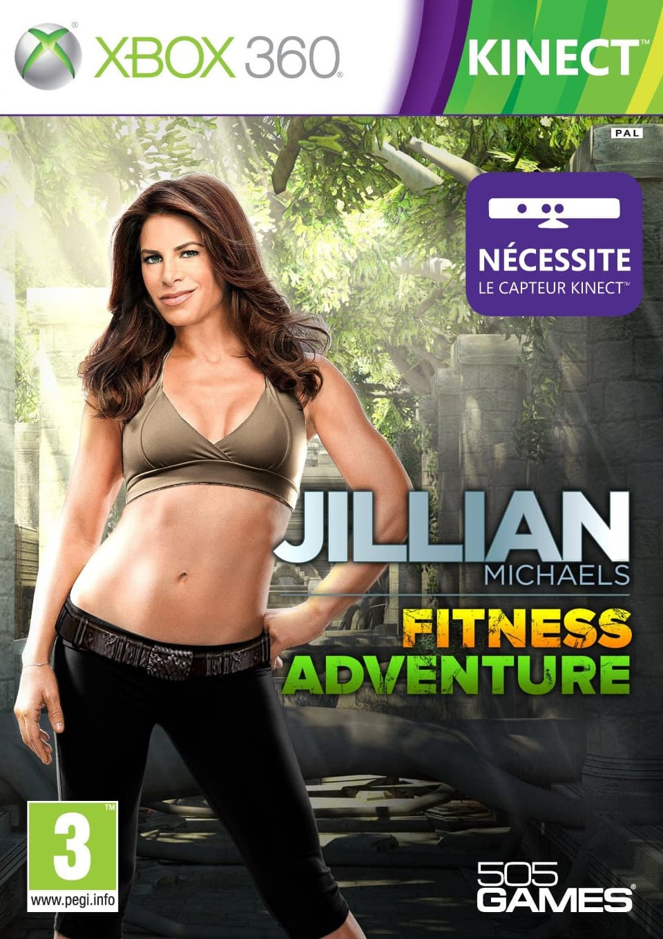 Jaquette Jillian Michaels Fitness Adventure