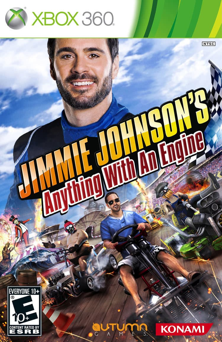 Jaquette Jimmie Johnson's Anything with an Engine