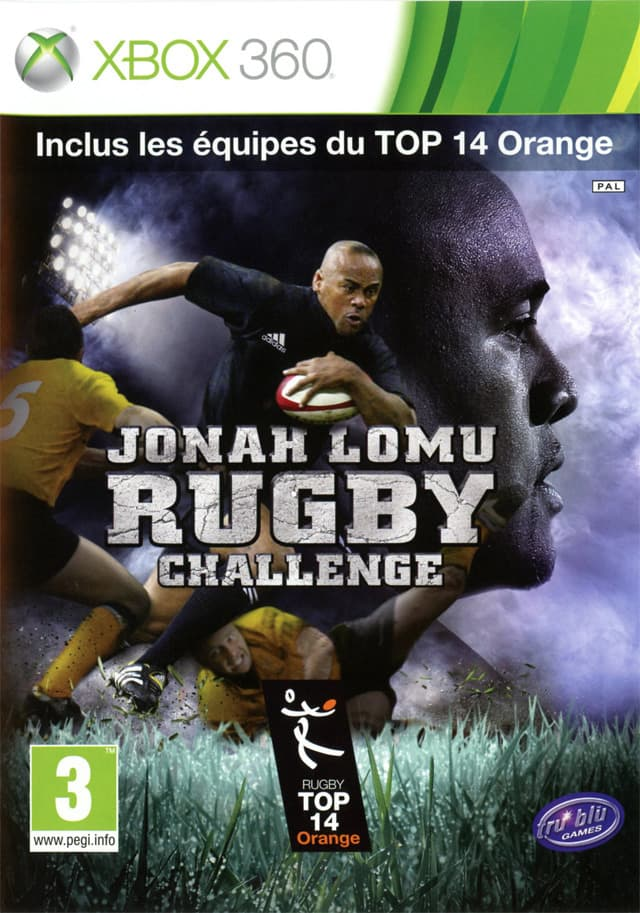Jaquette Jonah Lomu Rugby Challenge