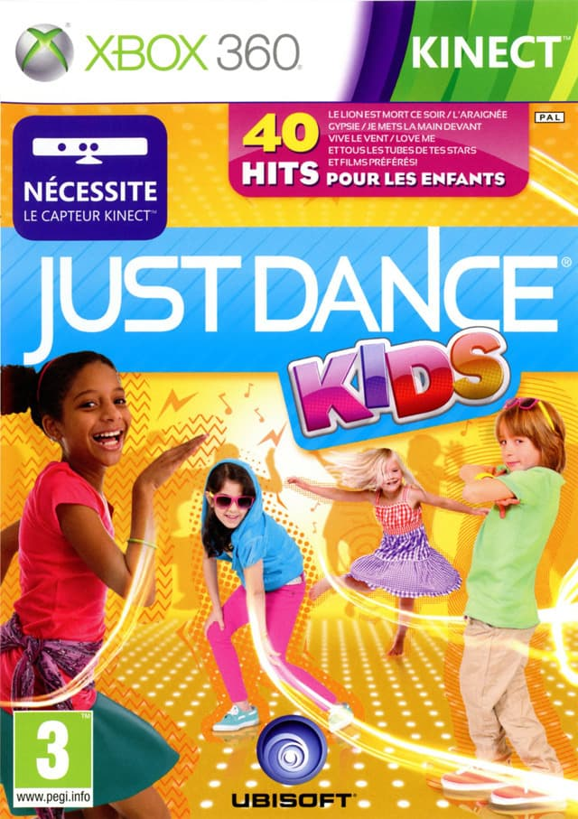 Jaquette Just Dance Kids