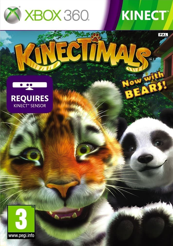 Jaquette Kinectimals Now with Bears!