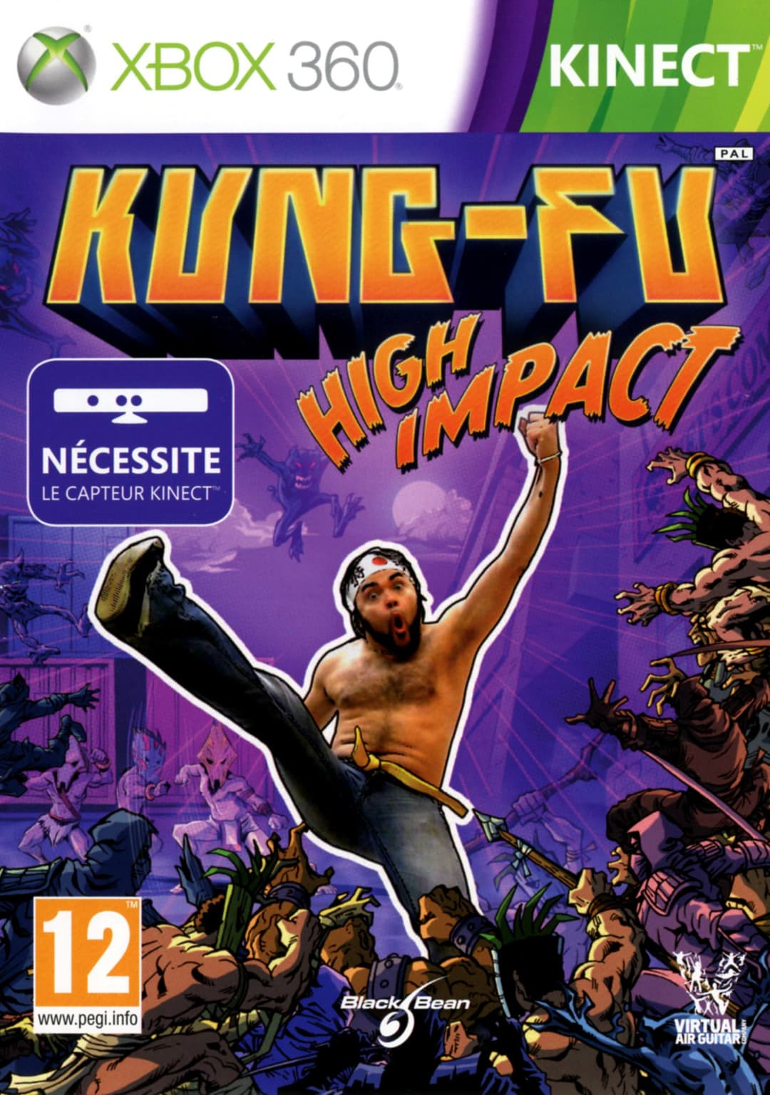 Jaquette Kung-Fu High Impact