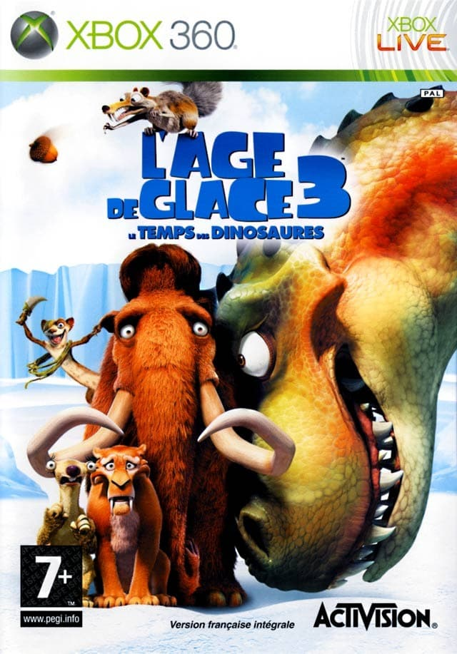 Jaquette L'Age de Glace 3 : Le Temps des Dinosaures