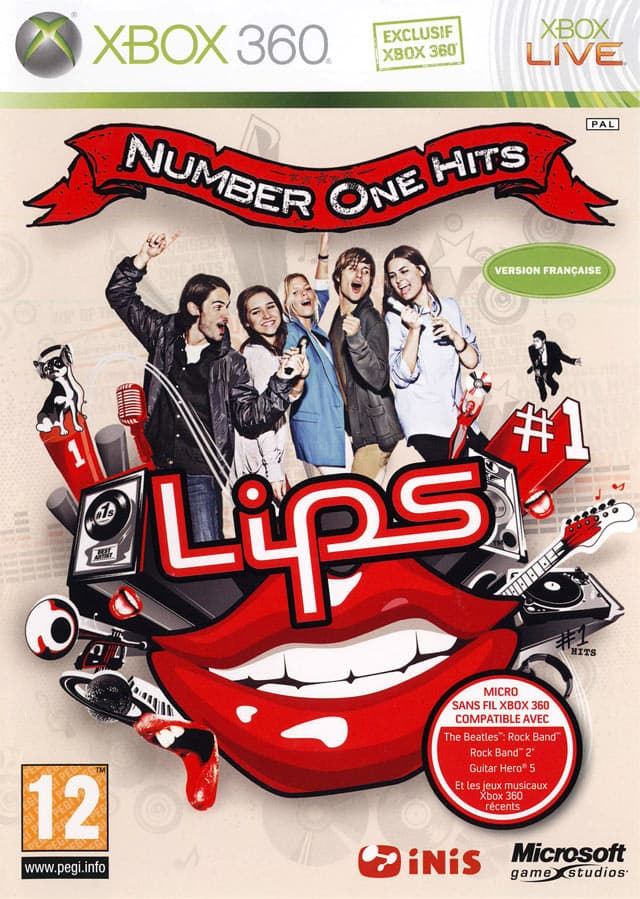 Jaquette Lips : Number One Hits