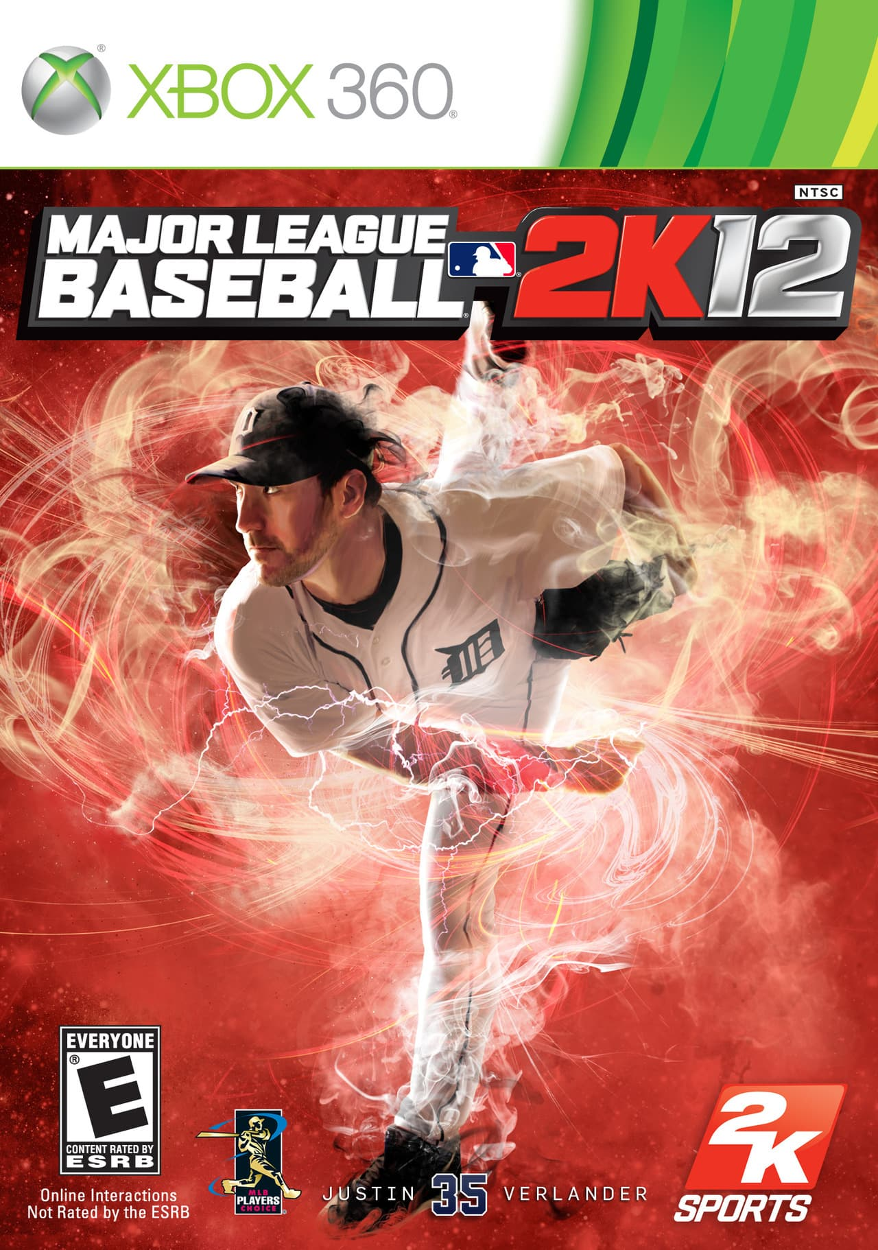 Jaquette Major League Baseball 2K12