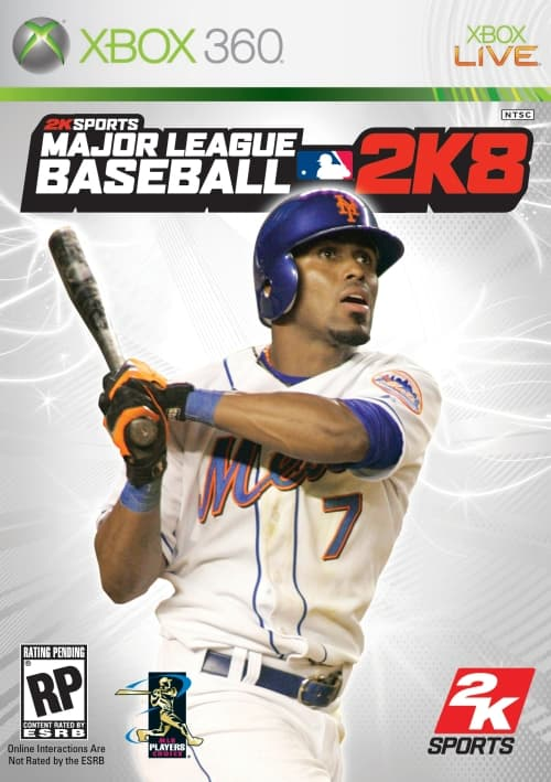 Jaquette Major League Baseball 2K8