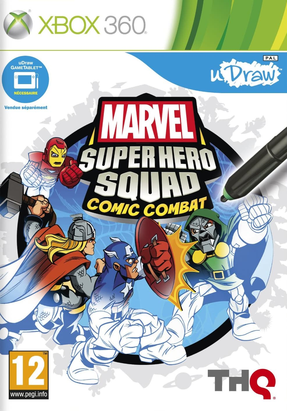 Jaquette Marvel Super Hero Squad : Comic Combat