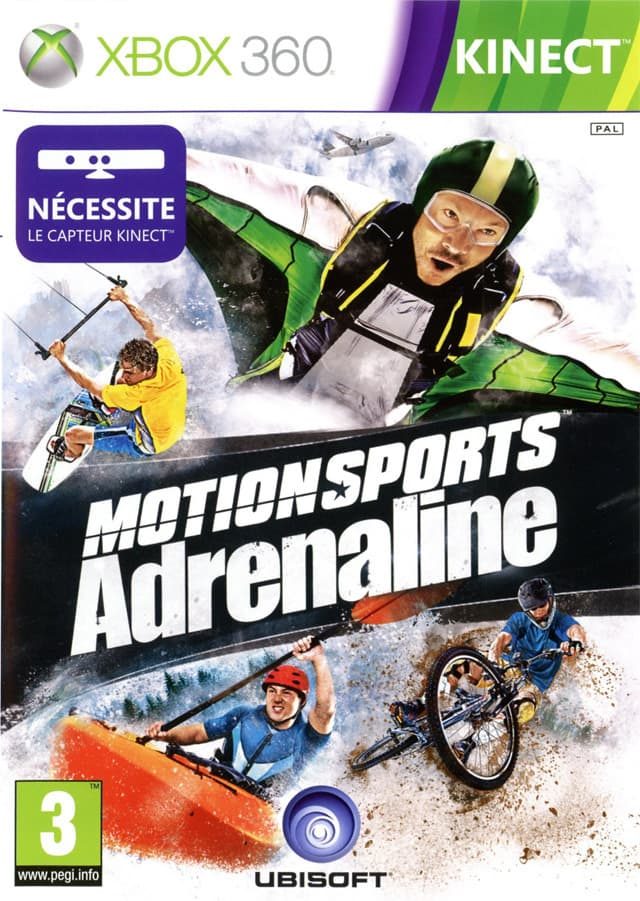 Jaquette MotionSports Adrenaline