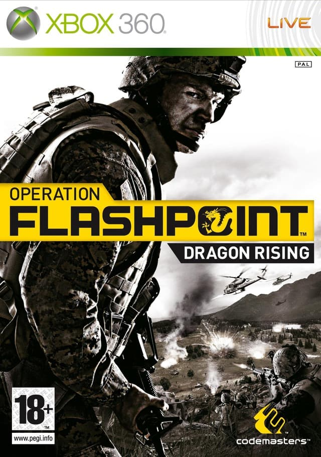 Jaquette Operation Flashpoint : Dragon Rising