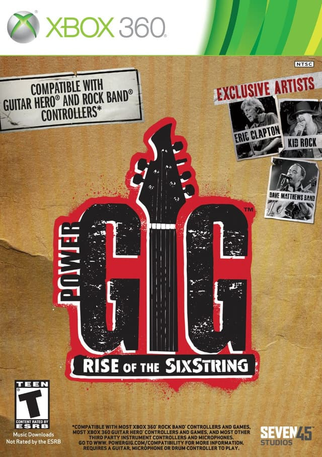Jaquette Power Gig : Rise of the SixString