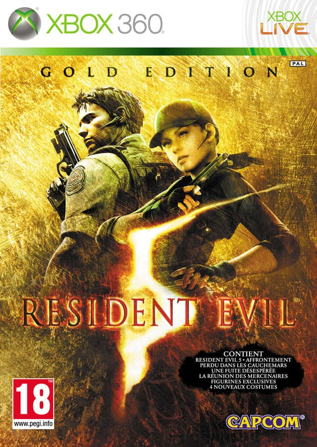 Jaquette Resident Evil 5 : Gold Edition