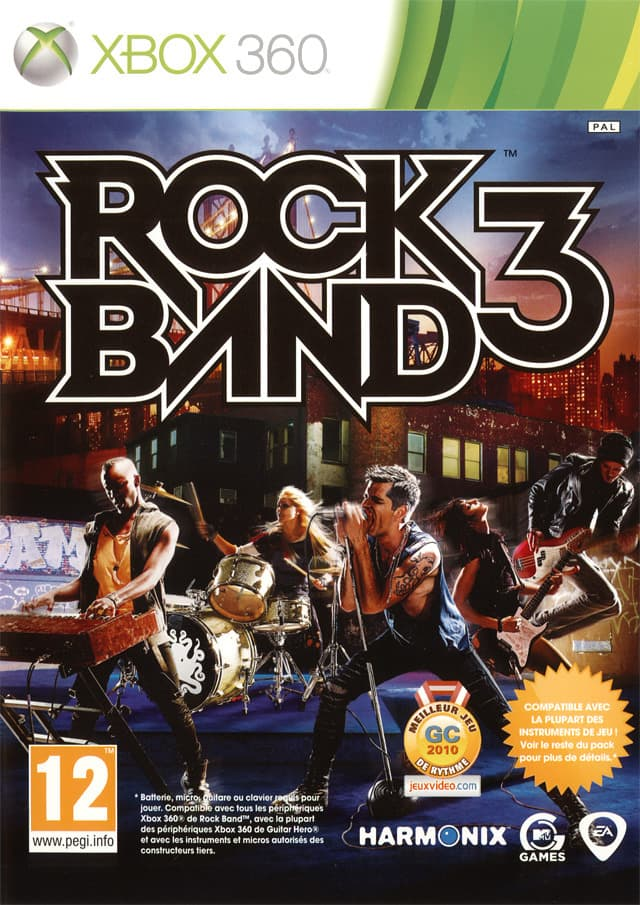 Jaquette Rock Band 3