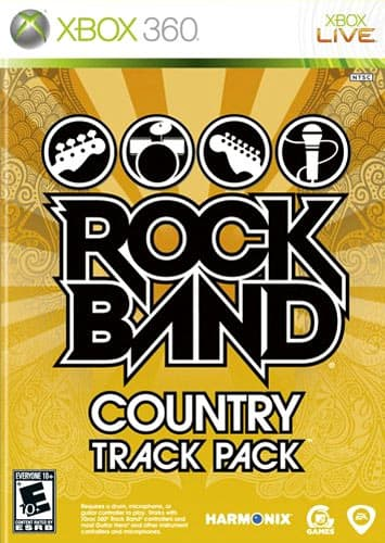 Jaquette Rock Band : Country Track Pack