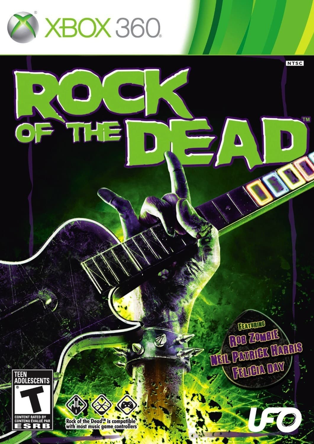 Jaquette Rock of the Dead