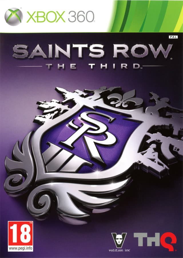 Jaquette Saints Row : The Third