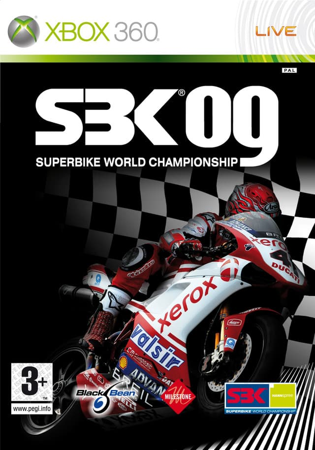 Jaquette SBK 09 : Superbike World Championship