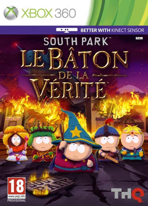Jaquette South Park : The Stick Of Truth