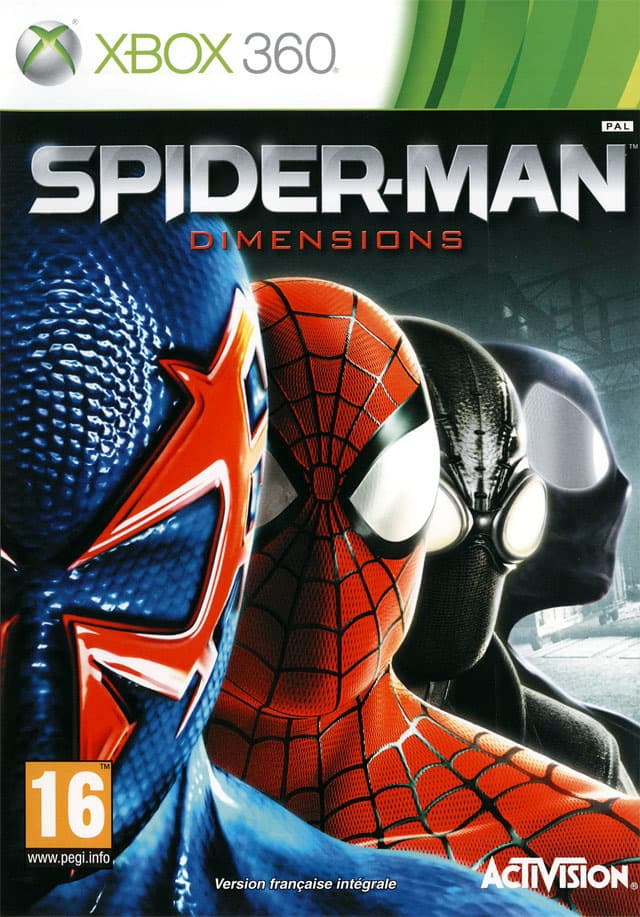Jaquette Spider-Man Dimensions