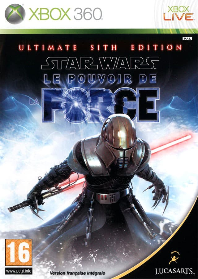 Jaquette Star Wars : Le Pouvoir de la Force : Ultimate Sith Edition