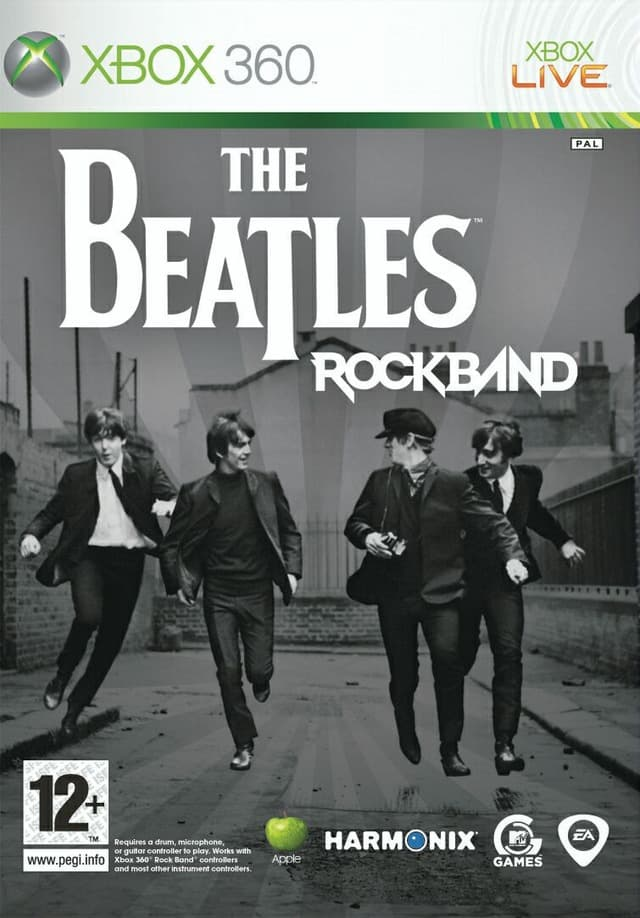 Jaquette The Beatles Rock Band