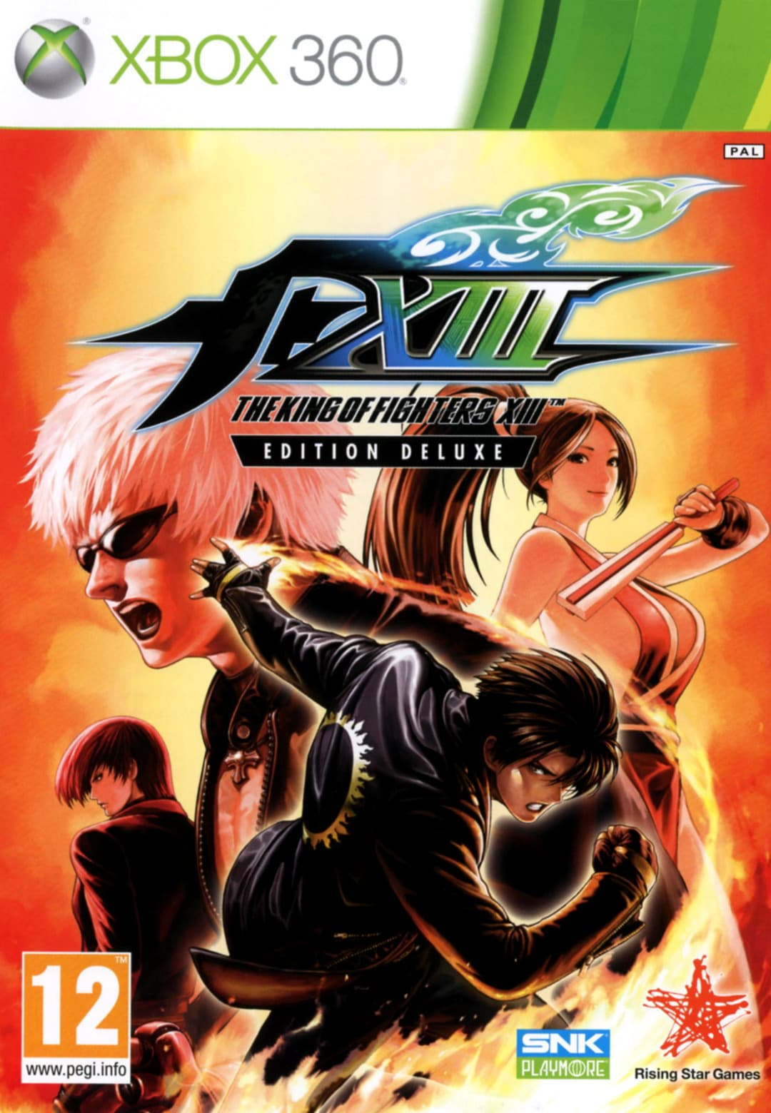 Jaquette The King of Fighters XIII