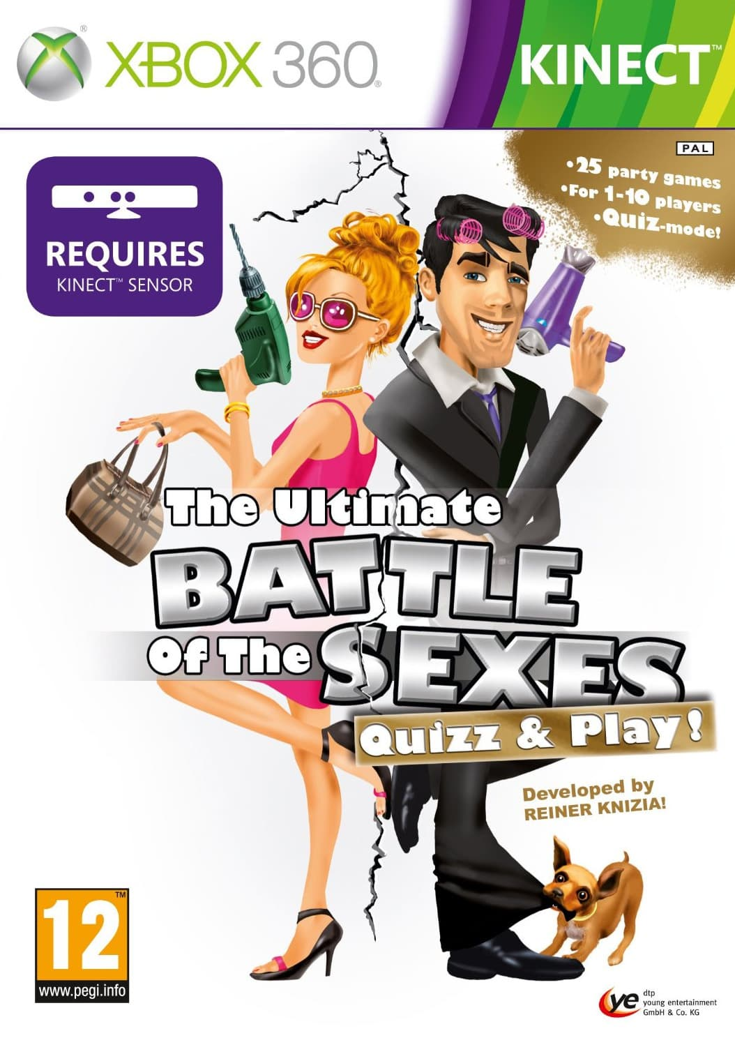 Jaquette The Ultimate Battle of the Sexes