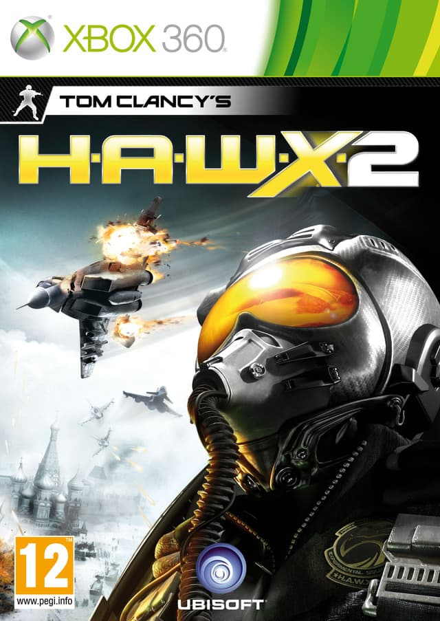 Jaquette Tom Clancy's H.A.W.X. 2