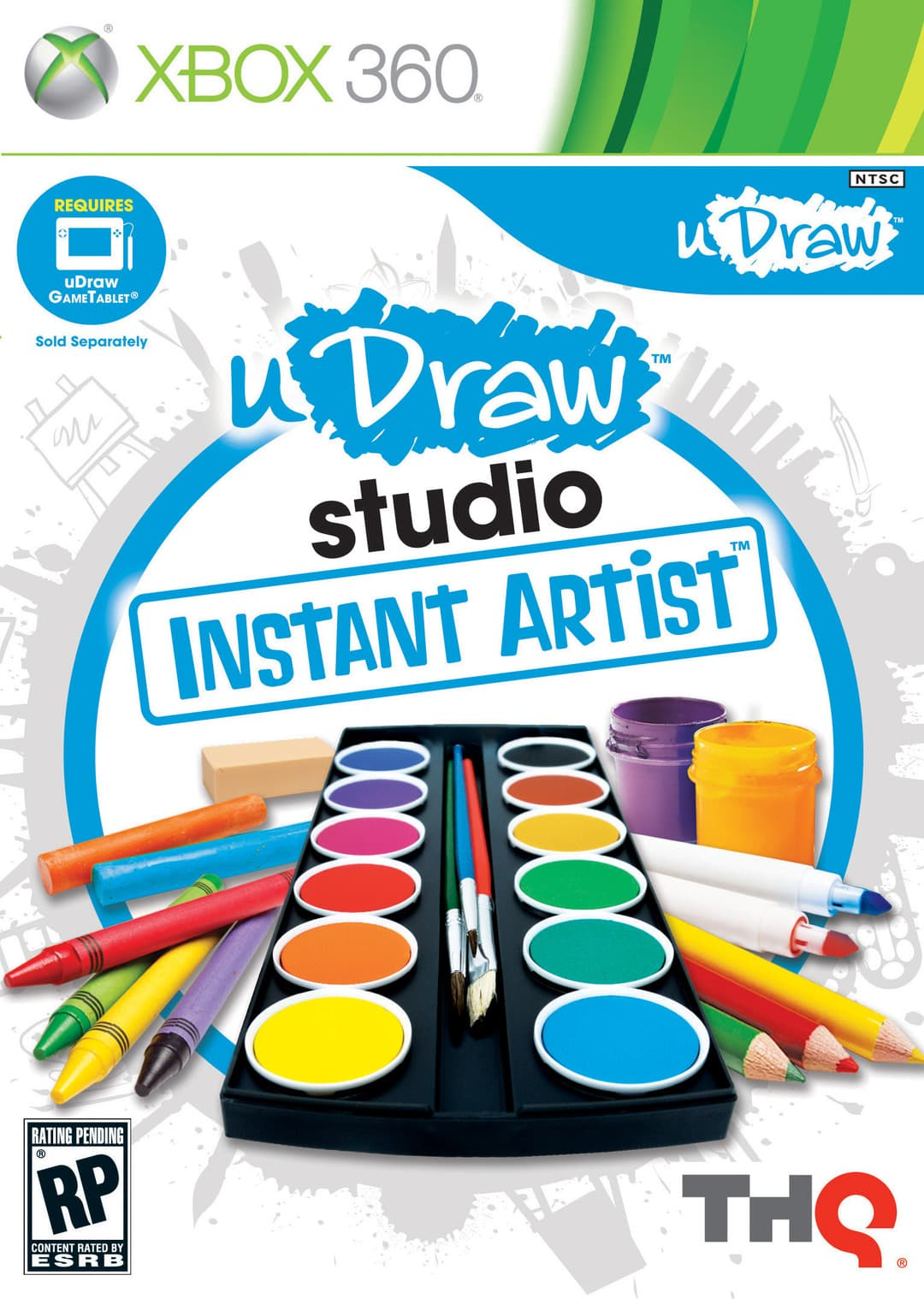Jaquette uDraw Studio : Dessiner Facilement