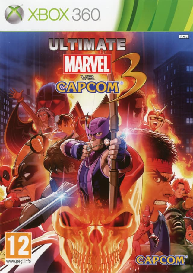 Jaquette Ultimate Marvel vs Capcom 3