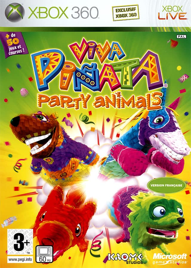Jaquette Viva Piñata : Party Animals