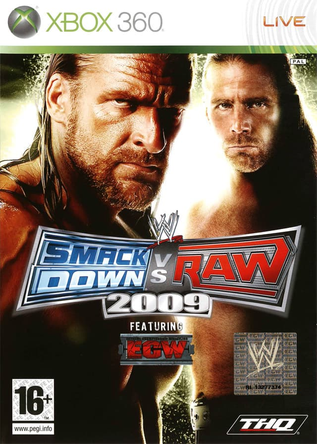 Jaquette WWE Smackdown vs Raw 2009