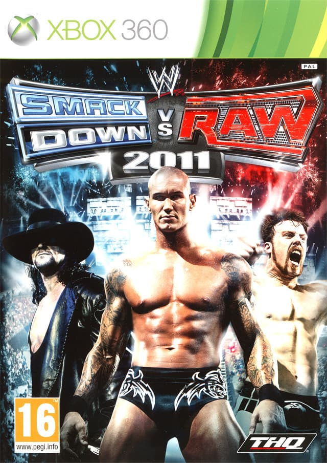 Jaquette WWE Smackdown vs Raw 2011