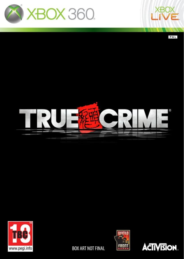 Jaquette True Crime : Hong-Kong