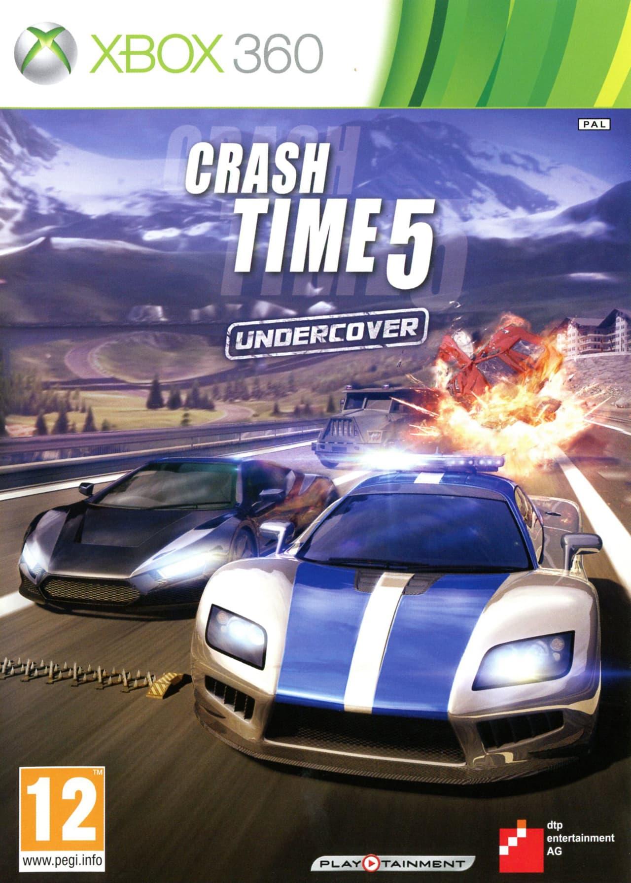 Jaquette Crash Time 5: Undercover