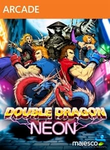 Jaquette Double Dragon : Neon