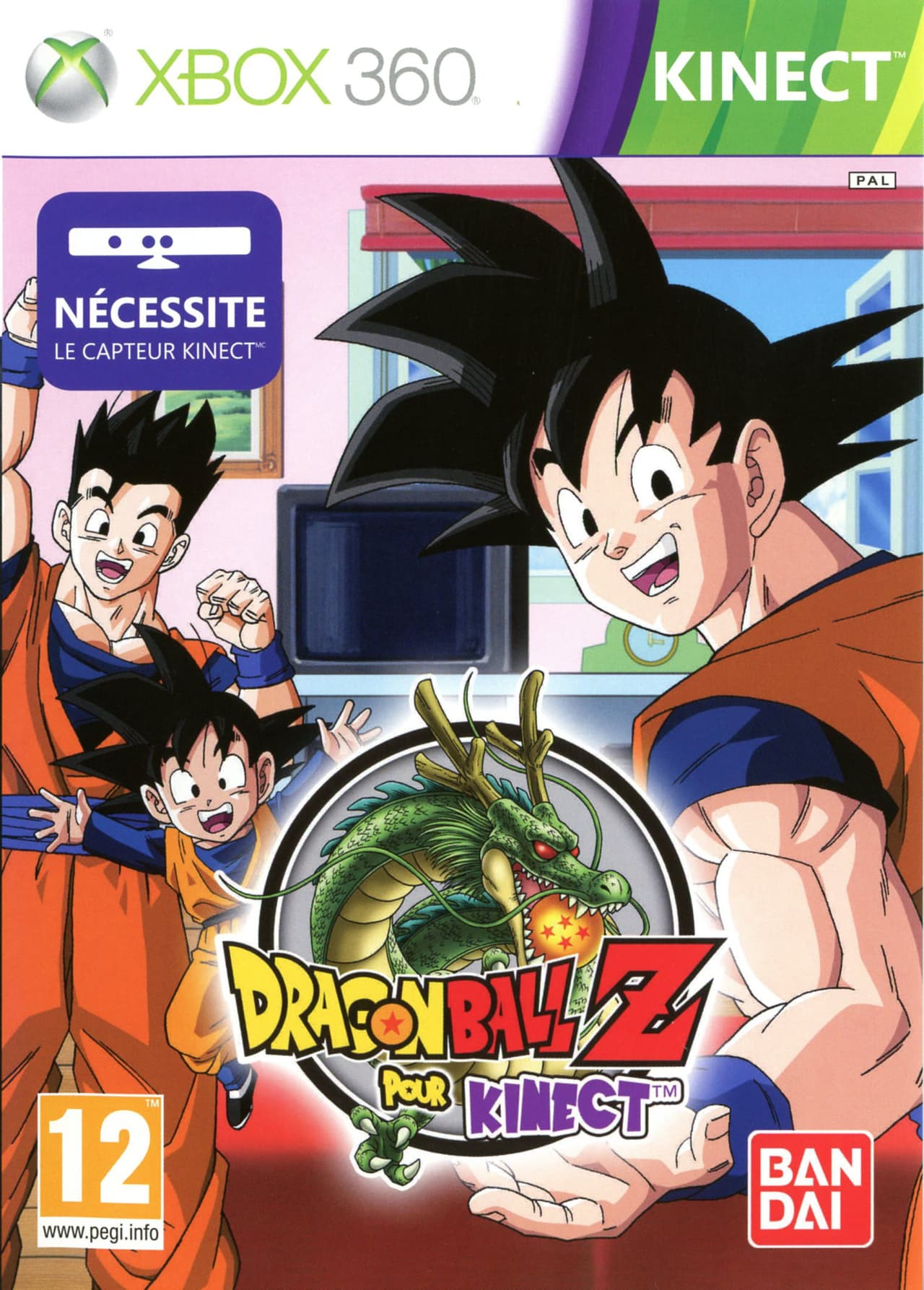Jaquette Dragon Ball Z for Kinect