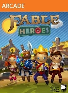 Jaquette Fable Heroes
