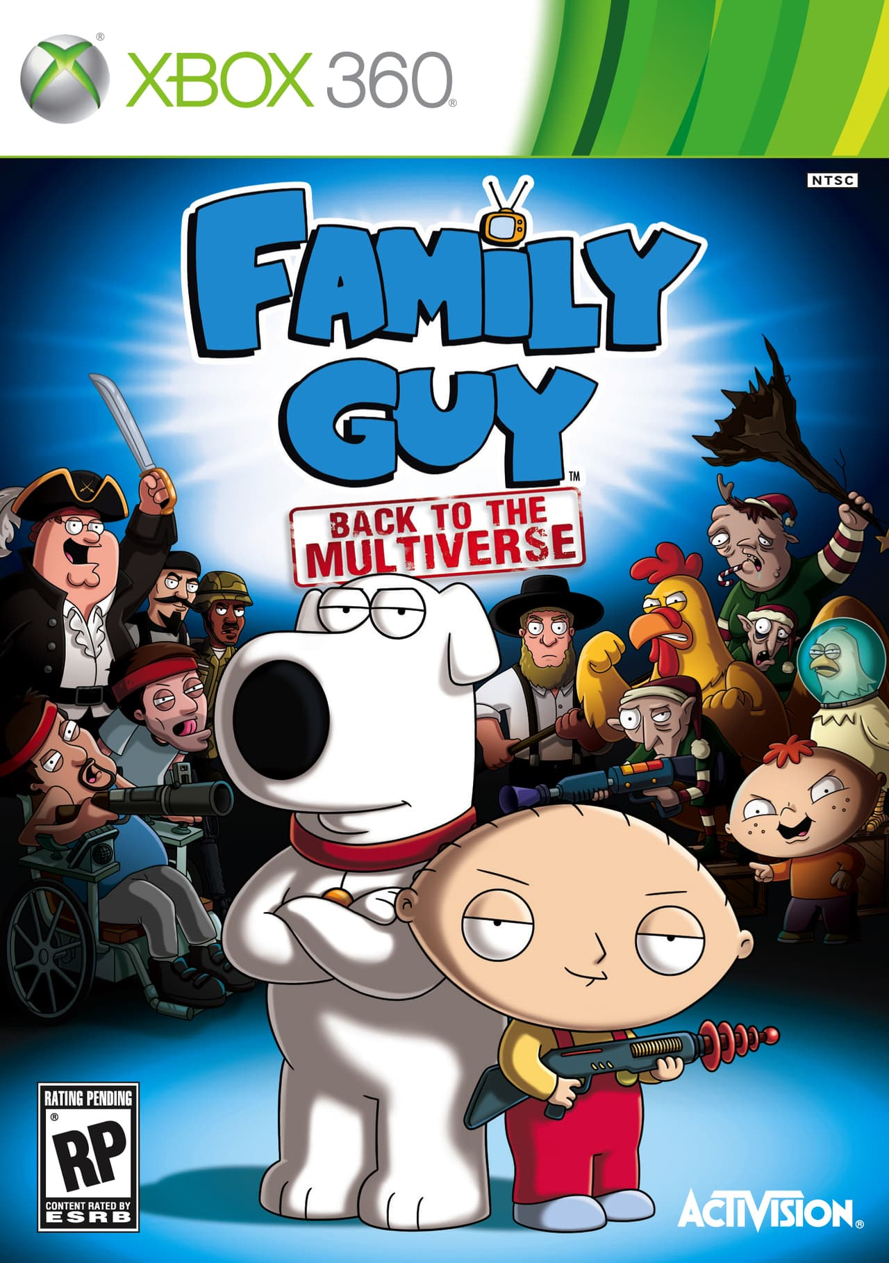 Jaquette Family Guy : Back to the Multiverse
