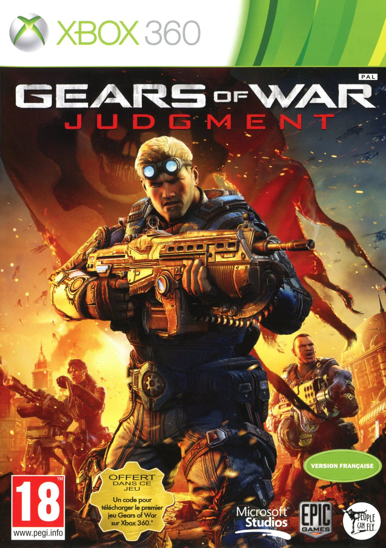 Jaquette Gears of War Judgment
