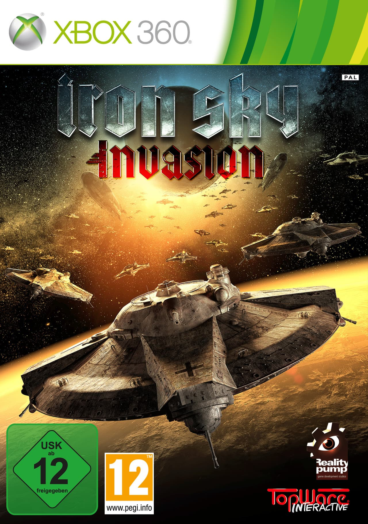 Jaquette Iron Sky : Invasion