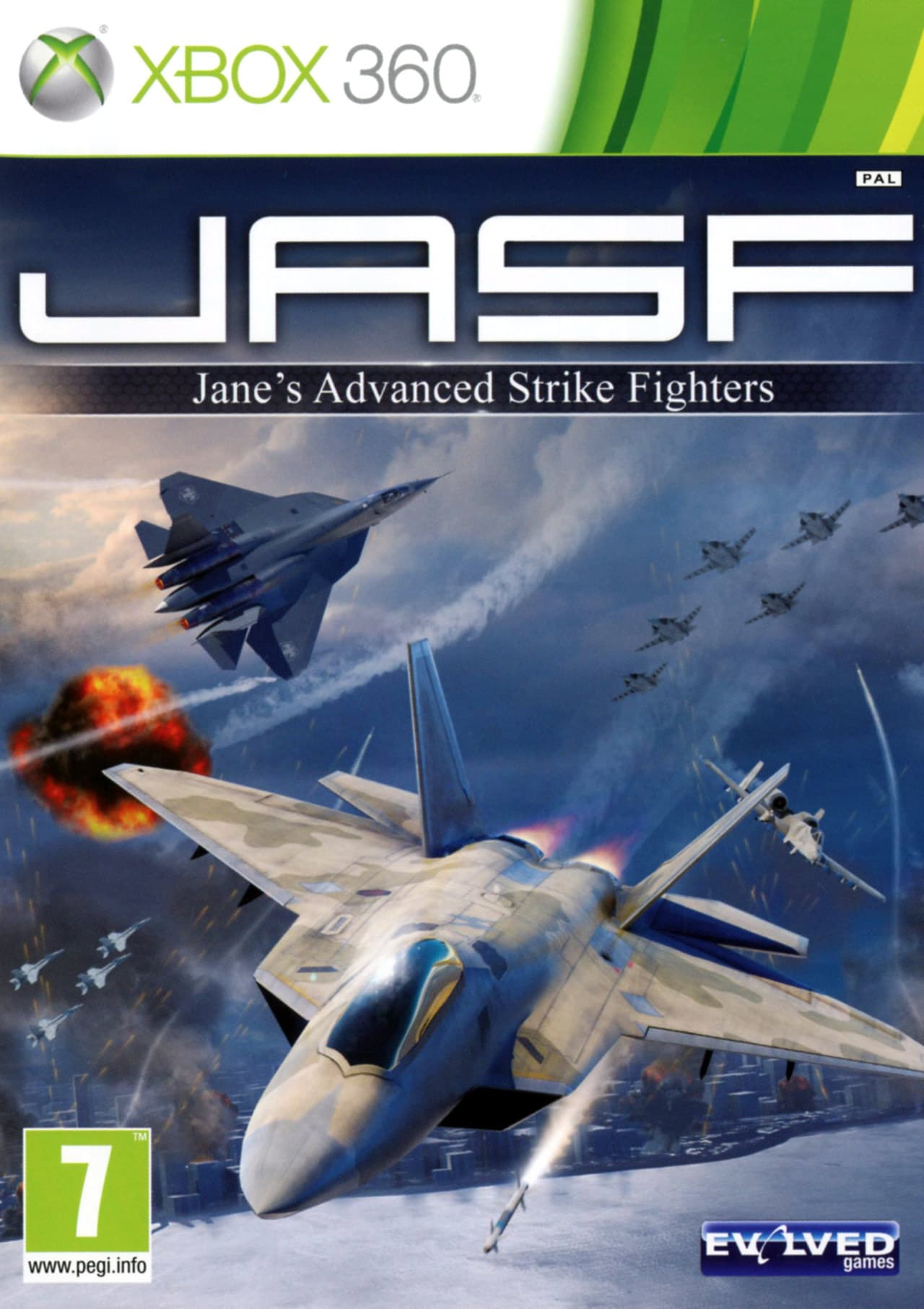 Jaquette JASF : Jane's Advanced Strike Fighters