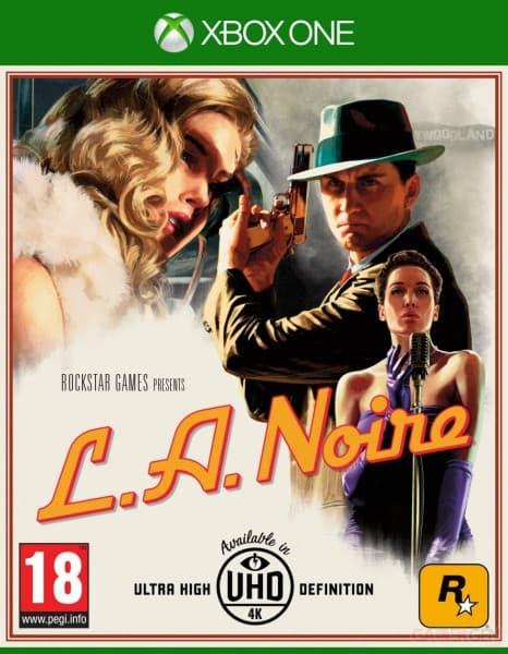 Jaquette L.A. Noire