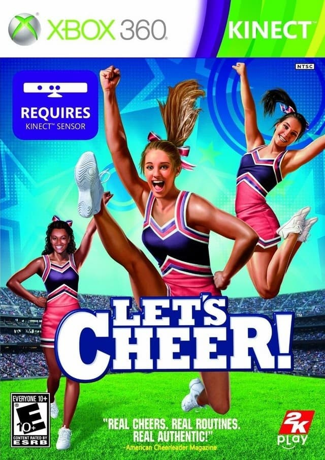 Jaquette Let's Cheer!