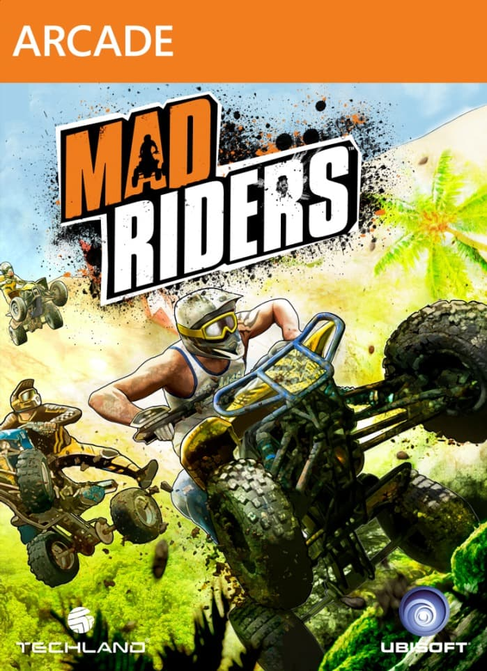 Jaquette Mad Riders