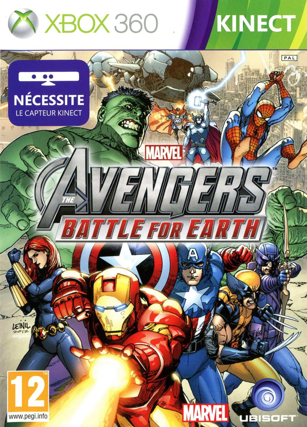 Jaquette Marvel Avengers : Battle for Earth